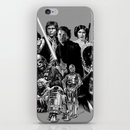 REBELS AGAINST THE EMPIRE iPhone Skin