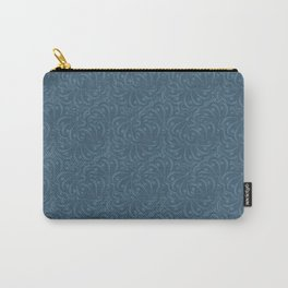 Abstract solid blue pattern . Carry-All Pouch