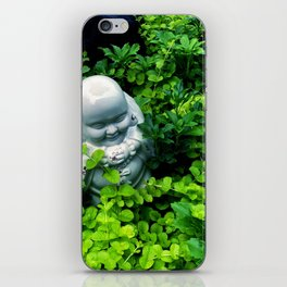 Buddha in Nature iPhone Skin