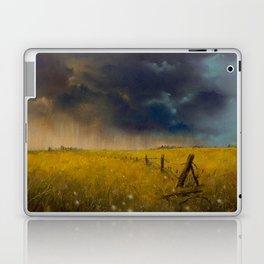 Rolling Thunder Pastel Art Print Laptop & iPad Skin