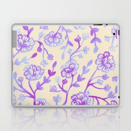Watercolor Peonies - Peach Violet Laptop & iPad Skin