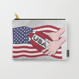 Rugby USA Flag Carry-All Pouch