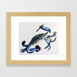 Dancin Crabbie Framed Art Print