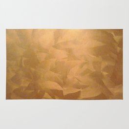 Brushed Copper Metallic - Beautiful - Rustic Glam - Fancy Faux Finishes - Metallic Paint Rug