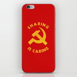 Sharing Is Caring iPhone Skin