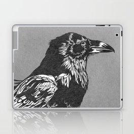 Raven Grey Laptop & iPad Skin