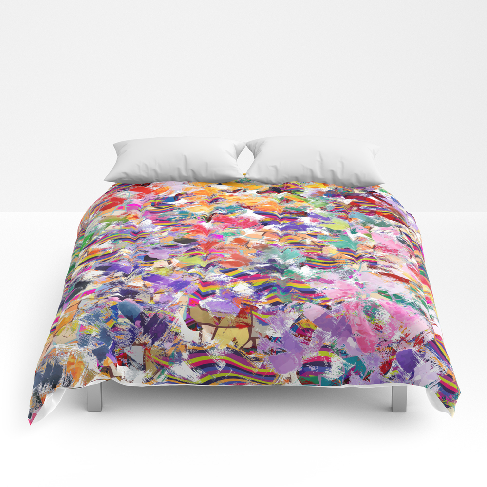 Broken Cups Comforter by Lalachandra CMF8601741