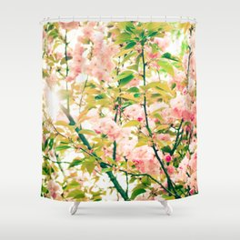 Spring Blossoms (1) Shower Curtain