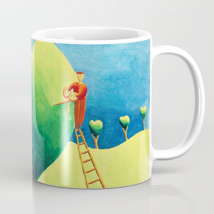 Love in the Garden Coffee Mug