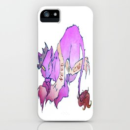 Need No King Lion iPhone Case
