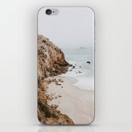 malibu coast / california iPhone Skin