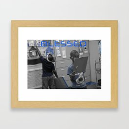 Been Blessed Framed Art Print