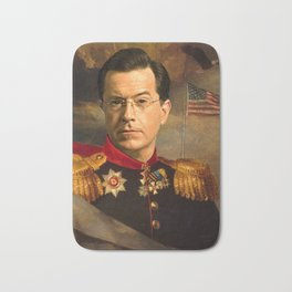 Stephen Colbert 19th Century Classical Painting Bath Mat