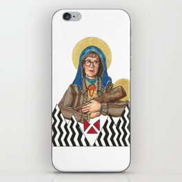 Our Log Lady Of Perpetual Help iPhone Skin