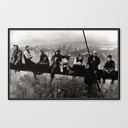 Captains atop a Skyscraper Canvas Print