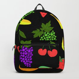 fruits pattern Backpack