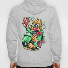 GREEN - Scooter Hoody