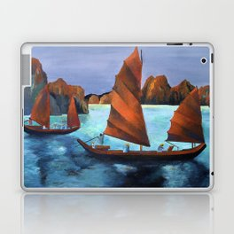 Junks In the Descending Dragon Bay Laptop & iPad Skin