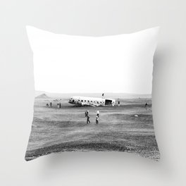 Iceland Landscape 002 Throw Pillow
