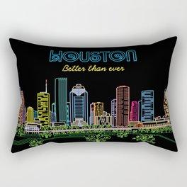 Houston Better Than Ever Circuit Rectangular Pillow