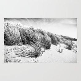 Sea and Sand, Kellogg Beach Dunes, Crescent City, Del Norte, California Rug