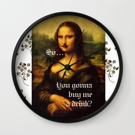 Buy me a drink Wall Clock