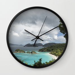 St John - What's Not to Love Wall Clock