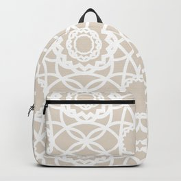 Palm Springs Macrame Lattice Lace Backpack