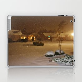 Coastal Winter Snow Storm Laptop & iPad Skin