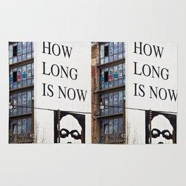 HOW LONG IS NOW - BERLIN Rug