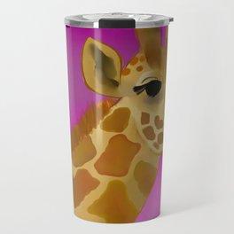 Color Pop Giraffe Travel Mug