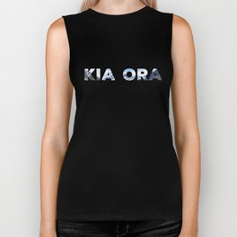 Kia Ora New Zealand Biker Tank
