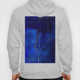 Into The Blue No.3a by Kathy Morton Stanion Hoody