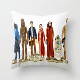 Rebels & Heroes Throw Pillow