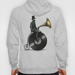Music Man in the City, by Eric Fan and Viviana González Hoody