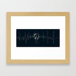 Scarecrow of Sound Framed Art Print