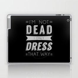 Dress Like Dead Laptop & iPad Skin