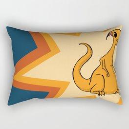 Lucien the Monster Rectangular Pillow