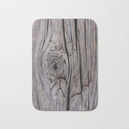 Wood Knot Wood Texture Bath Mat