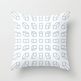 New perspective on life Throw Pillow