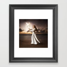Be a Light Framed Art Print