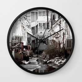 Moist Tart Wall Clock