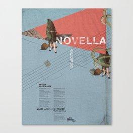 Novella- Mixed media Canvas Print