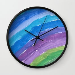 The Chance Watercolor Wall Clock
