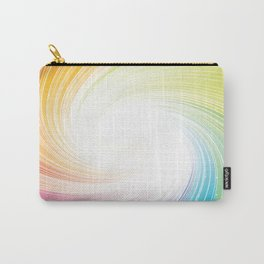 Rainbow background Carry-All Pouch