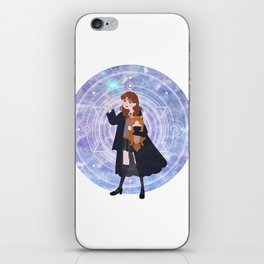 Magic Girl iPhone Skin