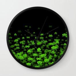 Invaded II Wall Clock