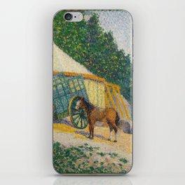 Albert Dubois-Pillet - Little Circus Camp iPhone Skin