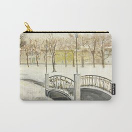 Locks on Little Lovers Bridge Carry-All Pouch