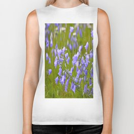 Bluebells Meadow #decor #society6 Biker Tank